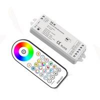 Neue Led RGB + CCT Streifen Controller 2 4g RF Remote Wireless 3A * 5CH Ausgang DC12V 24V 1 zone RGB CCT Led Streifen Controller V5 M + R23-in RGB-Controller aus Licht & Beleuchtung bei