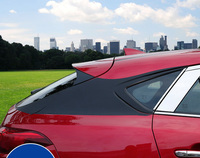 8pc For Mazda CX 4 Body trim Carbon fiber sticker C column suspension sticking