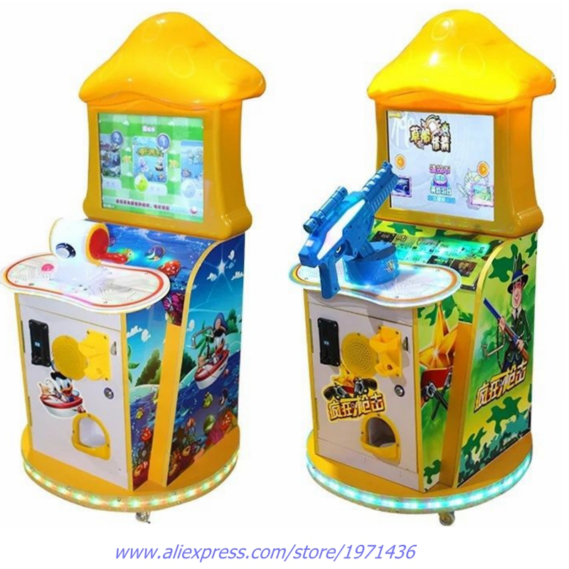 Amusement Device Coin Operated Gun Shooting Video Games and font b Fishing b font Game Machine