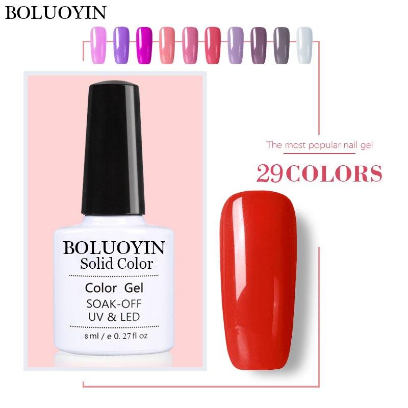 Nails Art Gel Nail Polish 8ML Semi Permanent Primer Manicure Gel Varnish Colorful Soak Off UV Colors White Bottle Gel Primer
