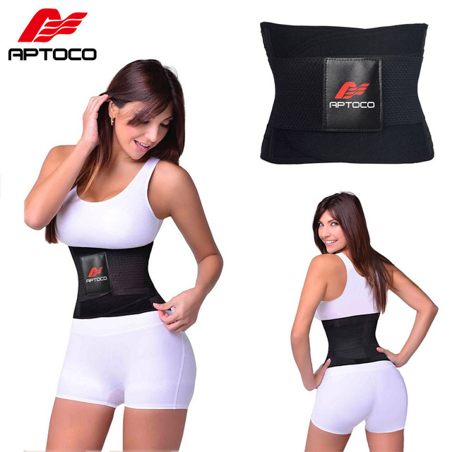 0af9f83e09 Aptoco Hot Shaper Beauty Corset Sauna Belt Women s Waist Trainer Corsets  Waist Trainer Sport Slim Belt Slimming Wraps for Female