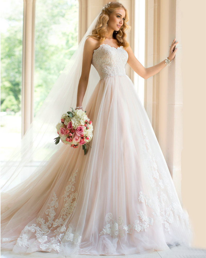 Princess Ball Gowns For Wedding: Wedding Dresses Country Style Princess Vestidos Wedding