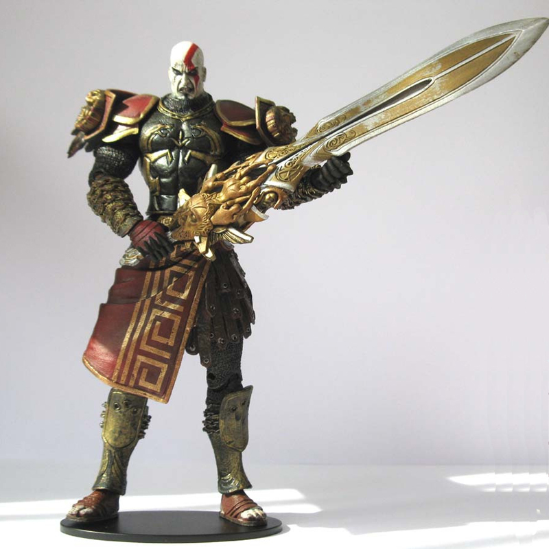 NECA Anime God Of War Brinquedos Action Figure Juguetes Games Toy Kratos Figures Brinquedo Collectible Model Toys Christmas Gift metal gear solid action figure sons of liberty figma 298 soldier pvc toy 16cm anime games figures snake collectible model doll