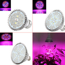 Full Spectrum 40/78/120 LED Grow Light Bulb E27 For Plants Vegetables Flower Hydroponic System Grow Tent AC85-265V  TB S