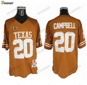 8b3410c3f DUEWEER Mens Vintage 1977 Texas Longhorns Earl Campbell College Football  Jersey