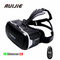 VR Shinecon 2.0 vr glasses Virtual Reality 3D Glasses Google Cardboard 2.0 For 4.7 - 6.0 inch Smartphone + Bluetooth Controller