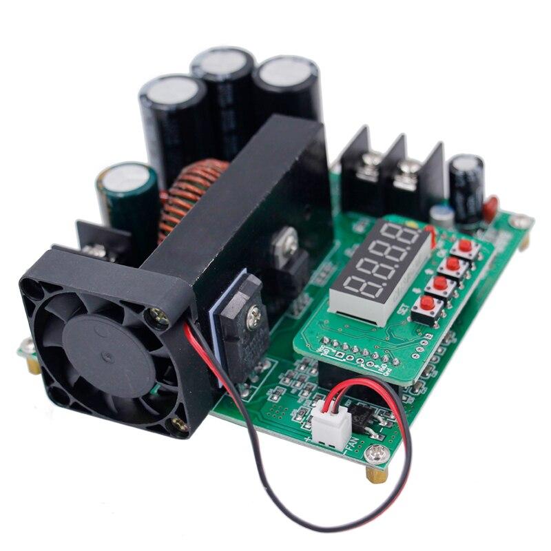 B900W einstellbare dc-boost-modul Konstante spannung stromwandler Module Regulator Eingang 8-60 V zu 10-120 V 900 Watt 39% OFF