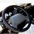 36-50 cm automotivo couro genuíno tampa da roda de direção do caminhão para volvo scania daf man mercedes renault isuzu mitsubishi