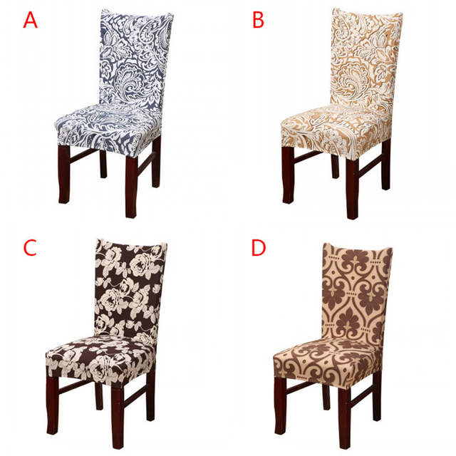 dining chair covers aliexpress swing size online shop polyester spandex for wedding christmas party cover stretch elastic slipcover seat