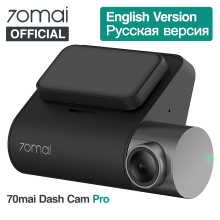 Xiaomi 70mai регистраторы Pro 1944 P автомобиля камера Английский Голос управление Парковка мониторы Ночь Версия Wi Fi 70Mai dvr 140FO