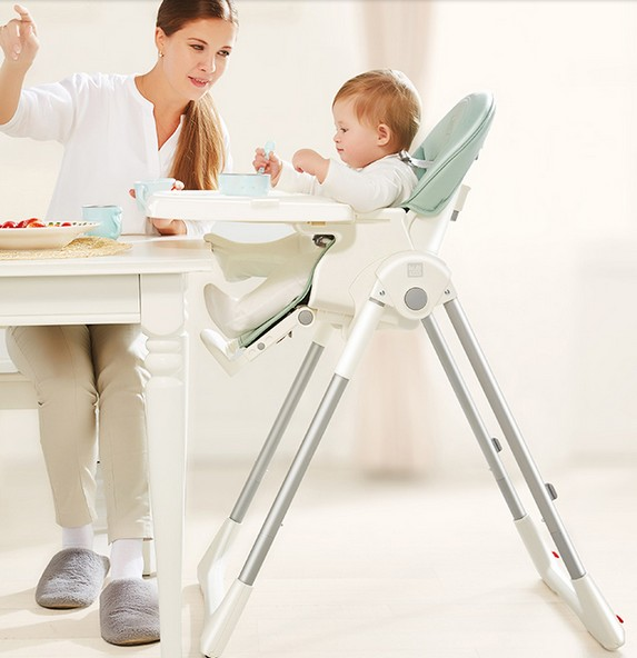 Baby chair  Child Multi-function foldable portable dining chair table and chairs 2014 hot selling portable baby high dining baby chair with double washable service plate red child dining chair baby chairs