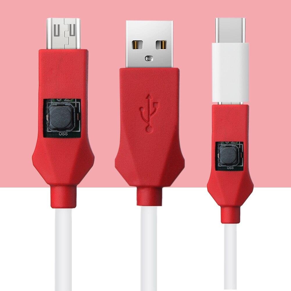 Nouveau Profonde Flash Câble De Réparation Outil Pour Xiaomi Redmi Téléphone Ouvert Port 9008 Prend En Charge BL Serrures EDL Câble avec Type C Adaptateur