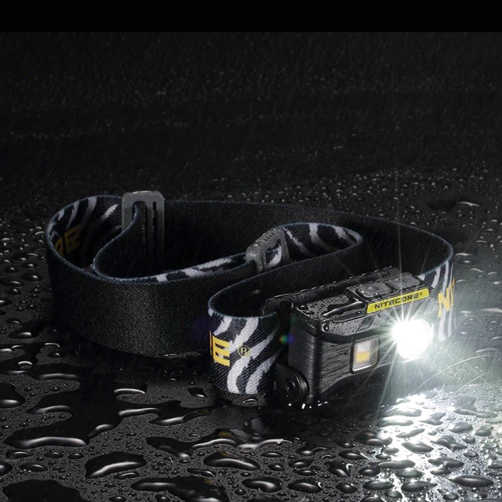 Nitecore Nu25 LED Kopf Taschenlampe USB Aufladbare Scheinwerfer 360lumen Triple Ausgang-Weiß/Rot/Hohe CRI- licht USB Lade Er
