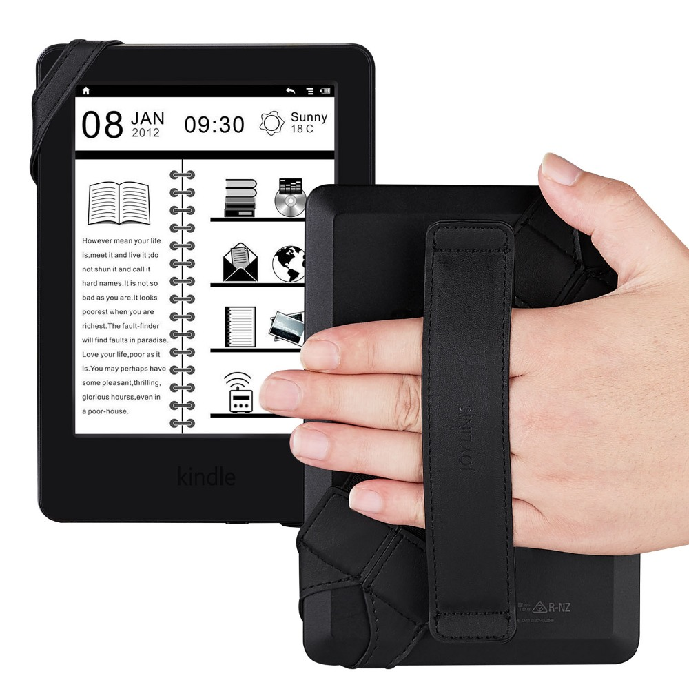 Universal tablet halter, joylink 360 Grad Swivel Leder tablet strap mit Elastische Gürtel für Alle 6 ~ 7