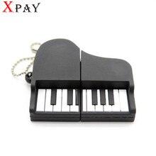 XPAY new arrival  promotion Fashion creative External Storage 4GB/ 8GB /16GB 32GB   USB 2.0 Cartoon  Grand piano free delivery