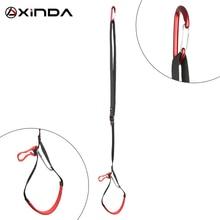 XINDA ProfessionalปรับWebbingเท้าLOOPปีนเขาโพลีเอสเตอร์Foot LOOP Ascenderเข็มขัดอุปกรณ์Band ROCK Climbingอุปกรณ์