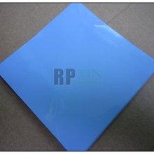 100*100*1,5 мм Силиконовые термопластины/колодки для чипсета/чипсов/IC/VRAM/радиатор охлаждения Теплопроводящий синий