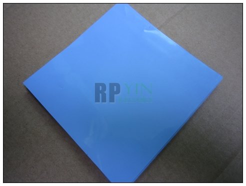 100*100*1.5mm Silicone Thermal Pad /Pads for Chipset / Chips / IC /VRAM /Heatsink Cooling Heat Conductive Blue 100mmx100mmx0 5mm gpu cpu heatsink cooling thermal conductive silicone pad for graphic cards chips bridge memory chipset