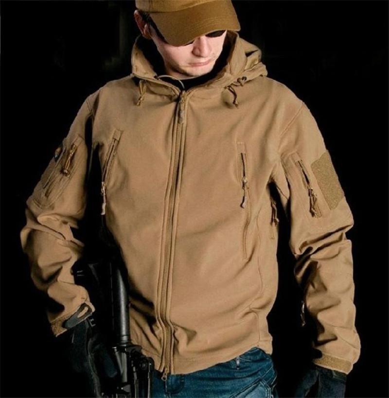 Manteau d'extérieur militaire imperméable à l'eau