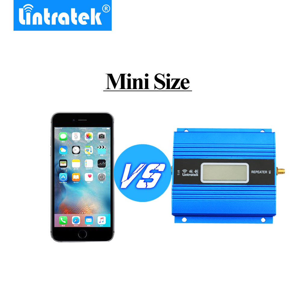 Lintratek LCD Affichage Mini GSM Répéteur 900 mhz Cellulaire Mobile Téléphone GSM 900 Signal Booster Amplificateur + Antenne Yagi avec 10 m Câble - 4