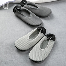 Jordan&Judy Foldable Ultra Light Shoes Home Casual Slippers Breathable Polyester Mesh Antibacterial Deodorant
