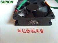 Оригинальный SUNON KDE1207PKV1 7020 70x70x20 мм 7 см 12 В 2.0 Вт измерения скорости вентилятора проектора