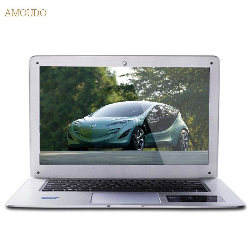 Amoudo 6C 8GB RAM 120GB SSD 750GB HDD 14inch 1920x1080 FHD Windows 7 10 Dual Disk