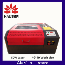 Freeshipping 4040 Co2 laser engraving machine cutter machine CNC laser engraver DIY laser marking machine carving machine cheap Normal
