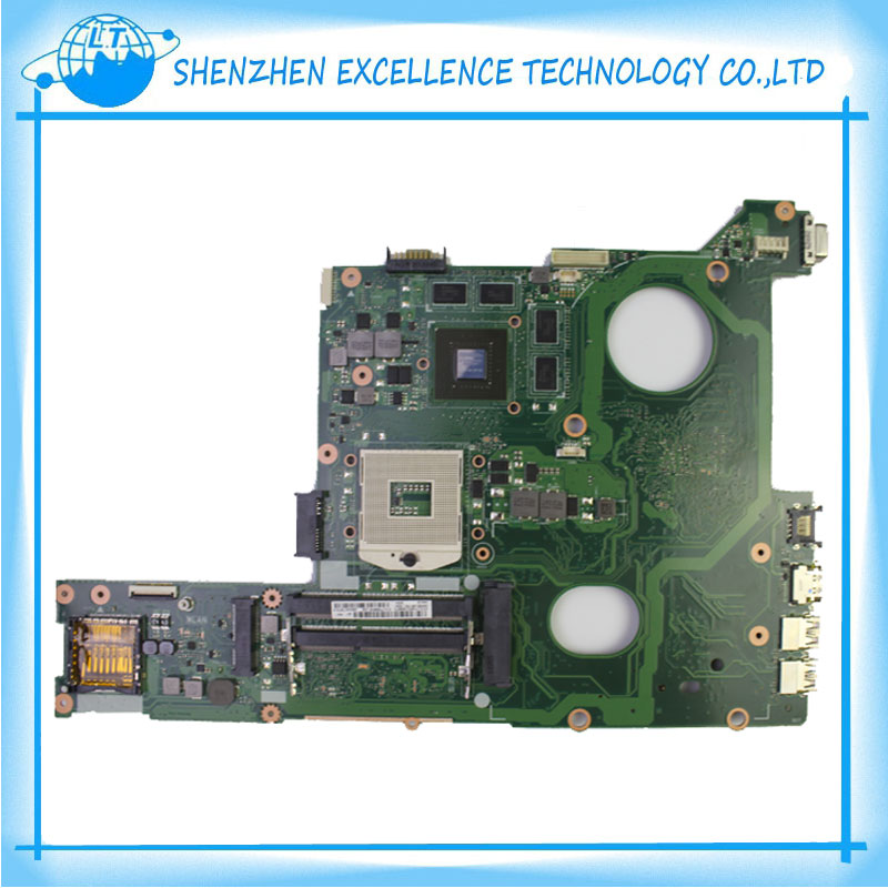 Original for ASUS N46VB motherboard DDR3 Non-integrated fully test ok before shipping g31 motherboard g31 dd2 ram fully integrated 3 775 needle