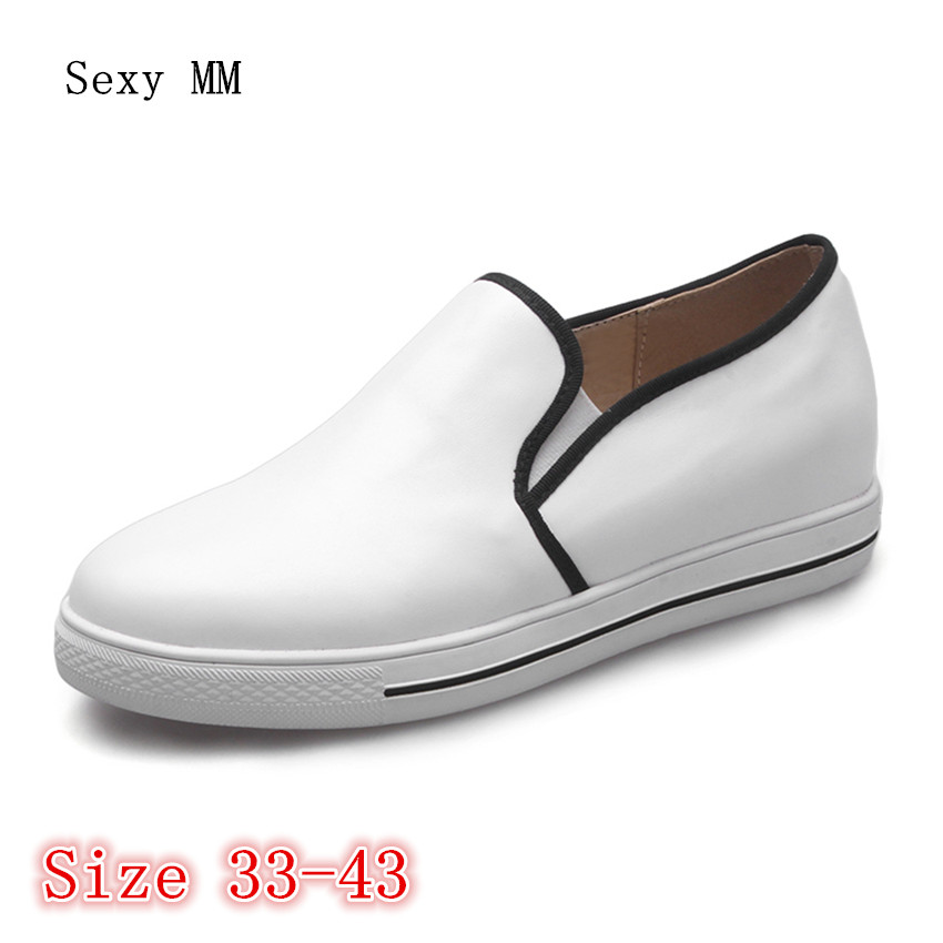 Flats Women Loafers Trainers Breathable Sport Woman Shoes Casual Skate Walking Flat Platform Shoes Plus Size 33 - 40 41 42 43 de la chance 2018 new fashion women casual shoes adults colorful women s flats shoes woman breathable harajuku flat plus size