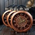 2017 Hot Sale Unisex Hard Popular New Handbag Authentic Vintage True Clock Round Box Original Time Machine Satchel Personality