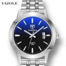 Mens Watches Top Brand Luxury YAZOLE Men