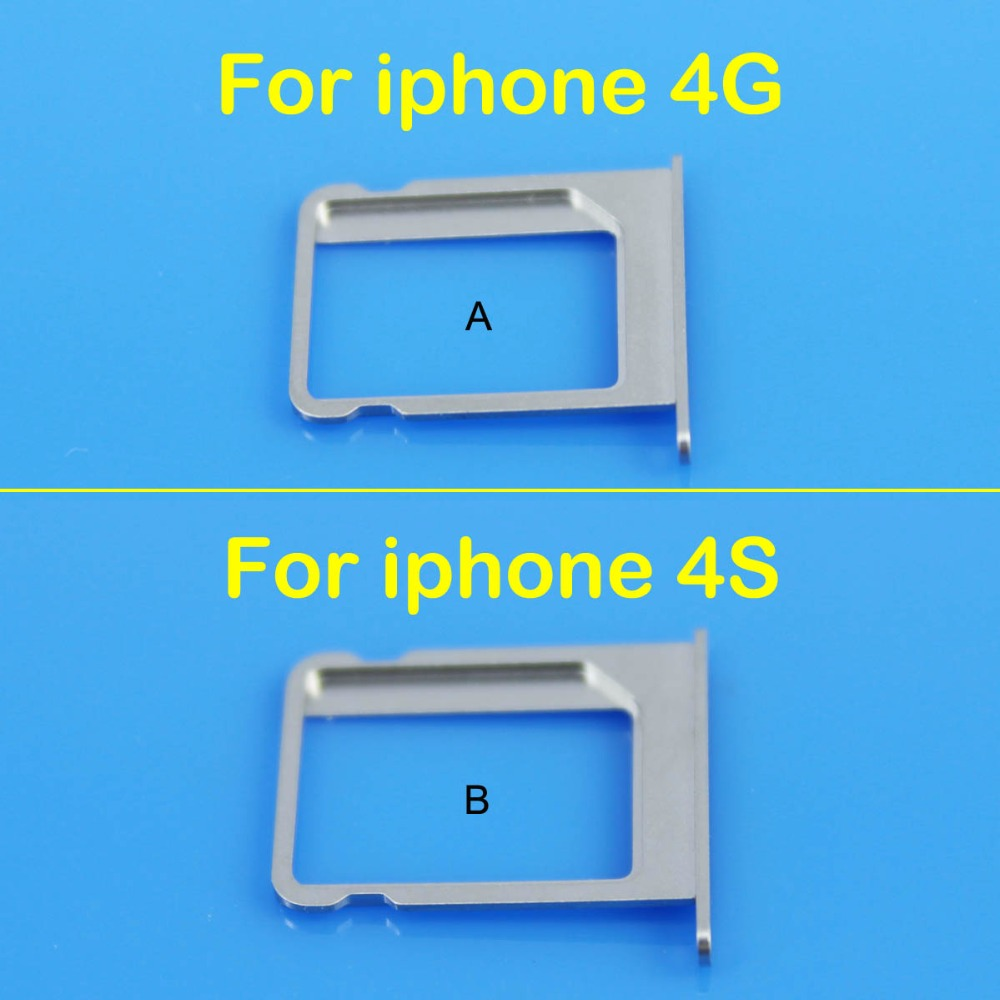cltgxdd Micro SIM Card Tray Holder Slot Replacement for Apple for iphone 4 4G 4S