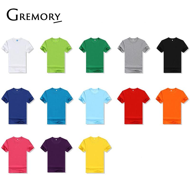 2018 New Solid Color T Shirt Mens Black And White 100% Cotton T-shirts Summer Skateboard Tee Boy Skate Tshirt Tops Sa-95
