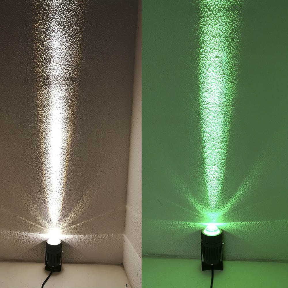 Tonybuny high power landscape light dia cast aluminum outdoor led spot light  green blue warm white IP65 spotlight