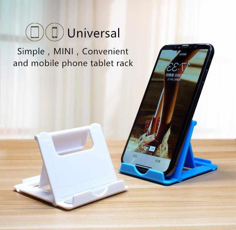 Suporte universal do telefone celular da tabela para o suporte do desktop do telefone para o ipad samsung iphone x xs max suporte do telefone móvel montagem