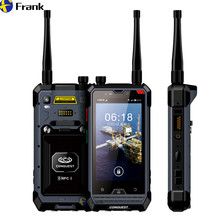 Origianl IP68 Wasserdicht Telefon DMR 2 Mt Walkie Talkie 2D scannen Android Octa-core 3G 32G 6000 mAH 4G Lte Smartphone NFC GPS