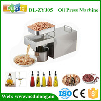 Home Use Stainless Steel Commercial Industrial Oil Press Machine For Seed Peanut Sesame High Oil Extraction