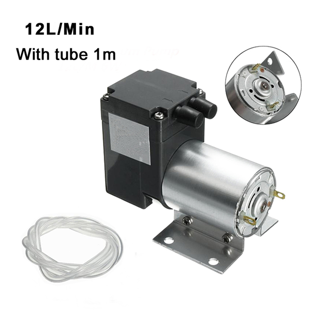 Dc12v 6w 10w mini air vacuum pump negative pressure suction pump dc12v 6w 10w mini air vacuum pump negative pressure suction pump electric diaphragm pump 12l ccuart Images