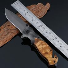 Browning x50 CS GO carbon fiber+rosewood Folding knife cold steel ganzo Tactical huntingknive camping survival Pocket Knife tool
