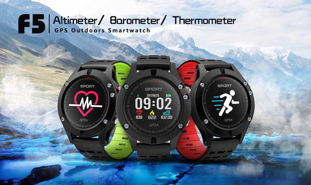 Celiadwn F5 GPS Smart Watch Altimeter Barometer Thermometer Bluetooth Round Smartwatch Wearable Devices for iOS Android Phone wearables electronic watches altimeter barometer sleep monitor g sensor watch smart android wear smart watch ios bluetooth