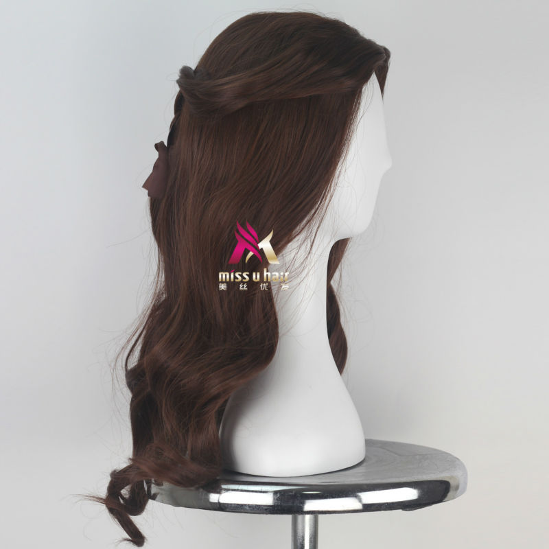Synthetic None-lacewigs Shop For Cheap Miss U Hair Women Girl Child Adult Synthetic Prestyled Long Wavy Brown Hair Cosplay Costume Wig For Halloween
