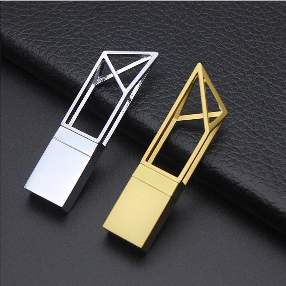 2017 Hot Arte edifício oco USB 2.0 Memória flash vara pen drive (Pode logotipo personalizado)