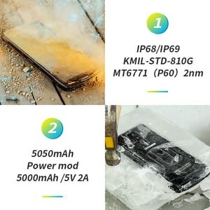 Image 3 - DOOGEE teléfono inteligente S90 Original, IP68/IP69K, superimpermeable, a prueba de golpes, 5050mAh, 6,18 , MT6671, Helio P60, 6GB, 128GB, cámara de 16MP