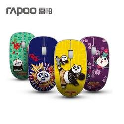 Rapoo 3500P Slim 5G bezprzewodowa mysz optyczna 1000DPI Cartoon komputer biurowy Home myszy