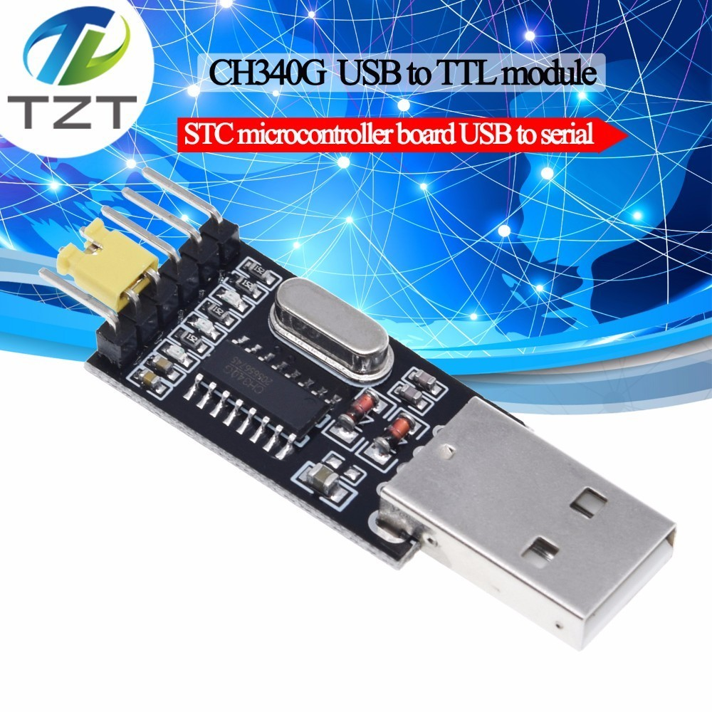 CH340 Module USB To TTL CH340G Upgrade Download A Small Wire Brush Plate STC Microcontroller Board USB To Serial