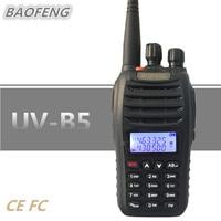 BAOFENG UV B5 Talkie Walkie Portable Ham CB Radio UHF VHF 99CH HF Mobile Transceiver Comunicador UV B5 UVB5 RF Transmitter