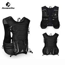 Anmeilu 5L уличная спортивная сумка 5,5 дюймовый чехол для телефона нейлон рюкзак для пеших прогулок, велопрогулок жилет-рюкзак против обезвоживания бег аксессуары