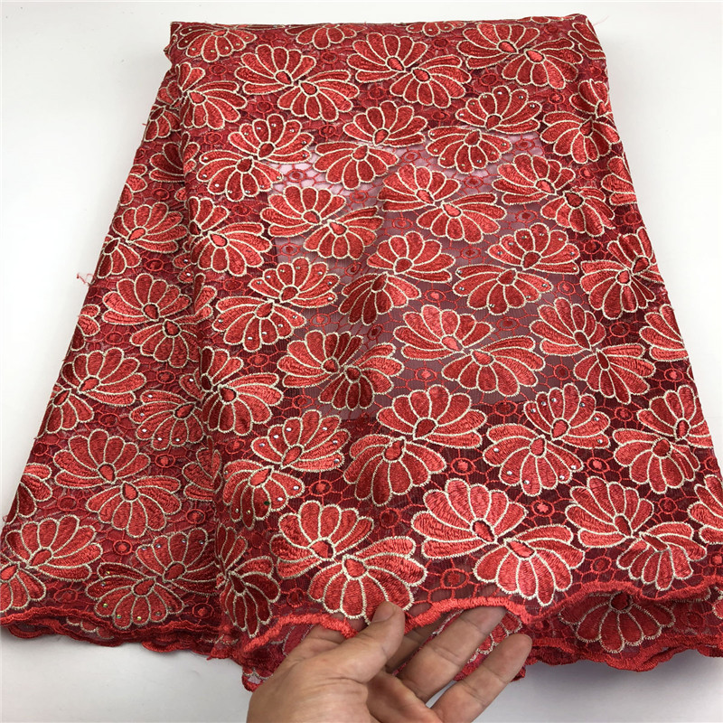 5yards lot high quality nigerian french lace embroidered tulle lace fabric for wedding dress African lace