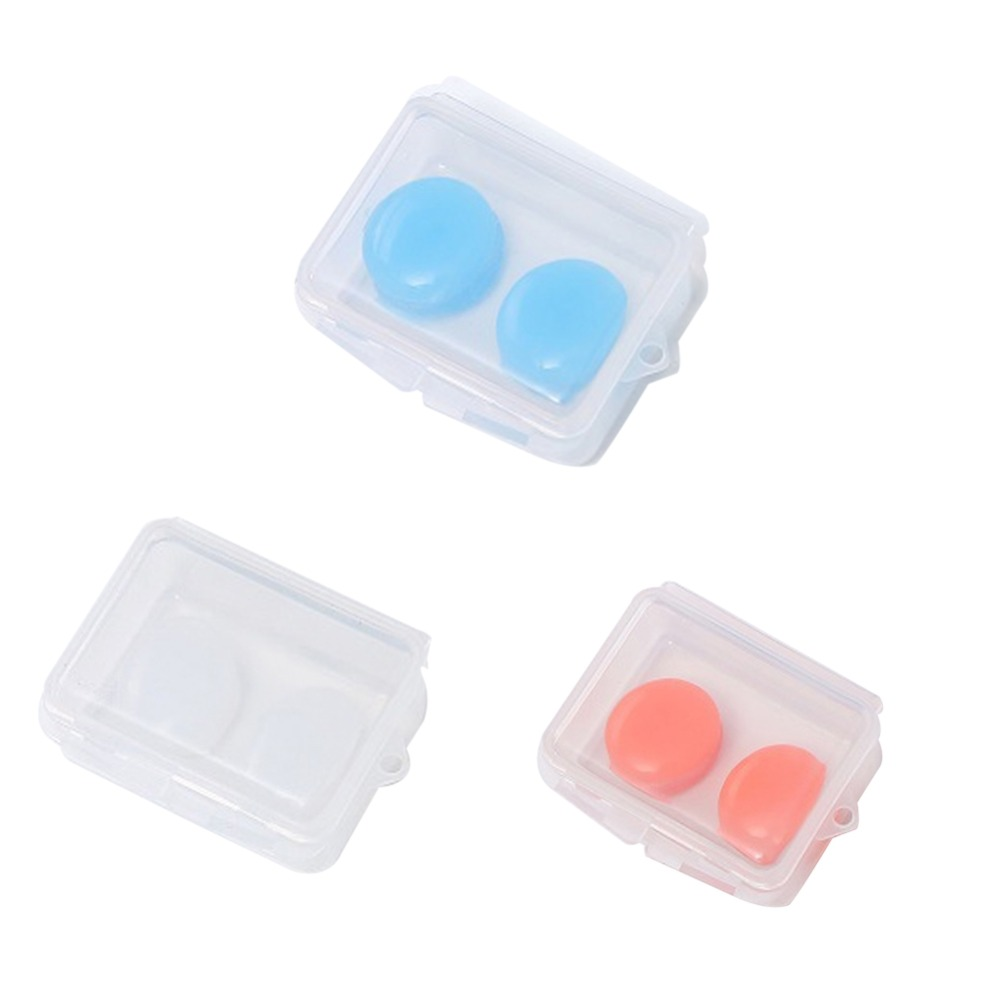 Image 3 - Ear Plugs For Sleeping Swimming Waterproof Earplugs Soft Silicone Mud Best Ear Plug Noise Reduction Ear Protection 2/4/6Pcs/pack-in Ear Protector from Security & Protection